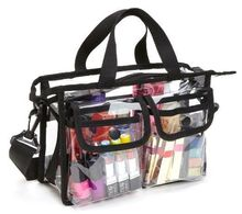 multi pouches Clear Set functional Bag School Pvc tote makeup messenger