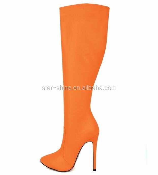 knee sexy latest SW1324 heel European stiletto high boots women elegant pointy style ZzZfqTp