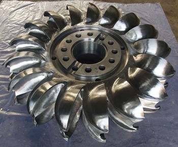 Small Hydro Pelton Wheel