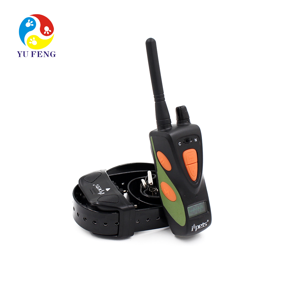Top Quality 800M Waterproof Rechargeable LCD Dog Training Collar PET617 Barking Control Training