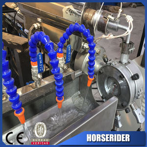 pvc fiber steel wire reinforced hose pipe making machinery/PVC fiber steel ENHANCED hose pipe production line