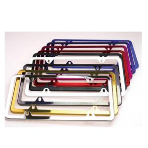Chrome custom license plate frame for wholesale