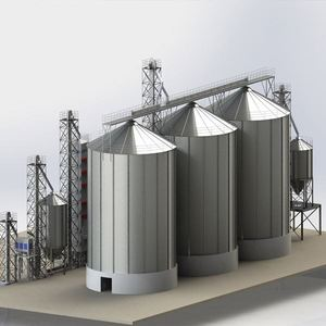 All-Round Safety 5000 Tons Grain Silo For Paddy Storage