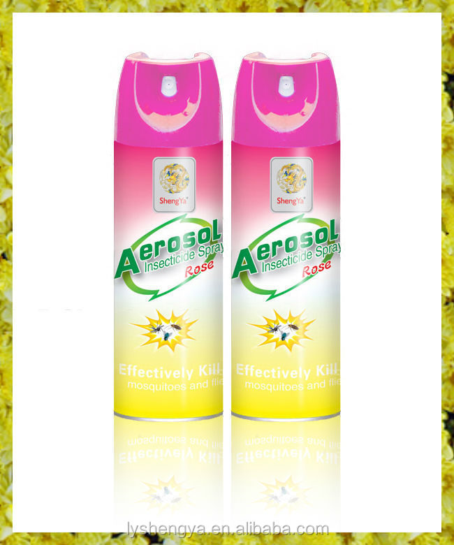 Insecticide spray Effective insecticidal aerosol