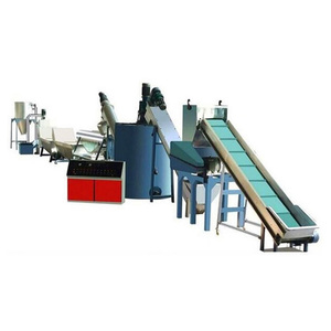 Factory price pp pet bottle scrap plastic recycling machines hdpe