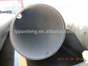 Tianjin steel pipe with cement lined carbon