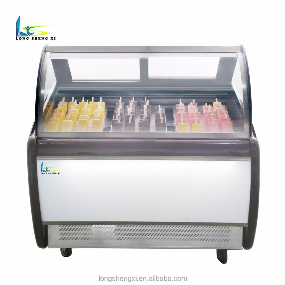 Fest Eiscreme-schaukasten Italienischen Gelato Vitrine Obst Eis Vitrinen Kühlschränke Und Gefriergeräte Großgeräte