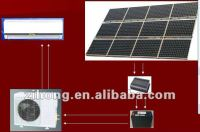 full solar aircon,solar ac,100% solar air conditioner.make for HILOS
