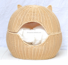 factory price bed for small cat pet carrier cat bed cave