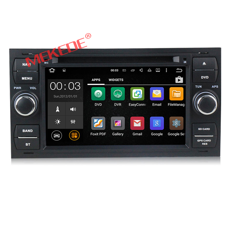 2-din Factory price Android 7.1 Car DVD PLAYER For Ford Mondeo S-max C-MAX Galaxy Quad core car GPS audio 4G wifi BT 2GRAM