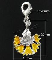 Gets.com zinc alloy 14kt gold lobster clasp