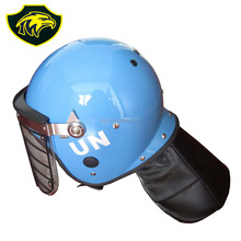 Full face protection with wire visor anti riot helmet