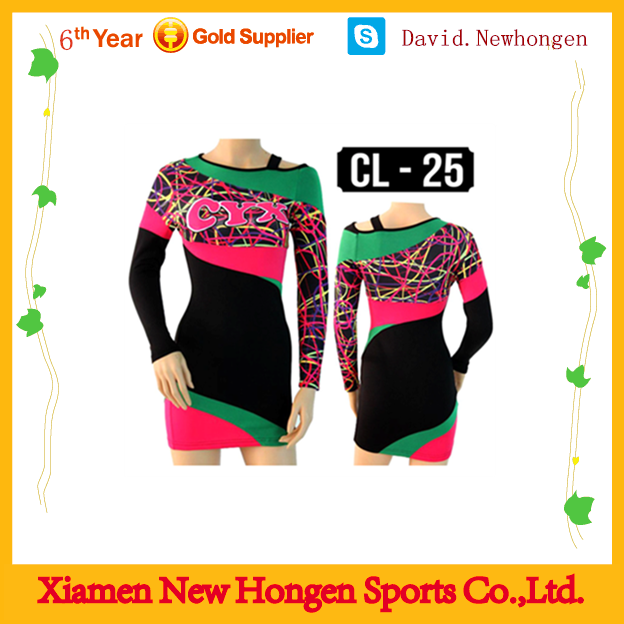 Kids new design Cheerleading uniforms, cheer dance costumes