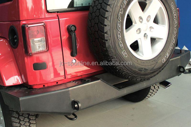 schwere rock crawler hinteren sto stange wache f r jeep. Black Bedroom Furniture Sets. Home Design Ideas