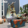 Most Popular High Simulation Life Size Dragon Sculpture