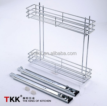 Tkk Wire Pulling Basket Kitchen Cabinet Normal Slide Pull Out Wire