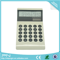 Standard Function Desktop Calculator Office Calculator Solar and Battery Dual Powered Percent Calculator