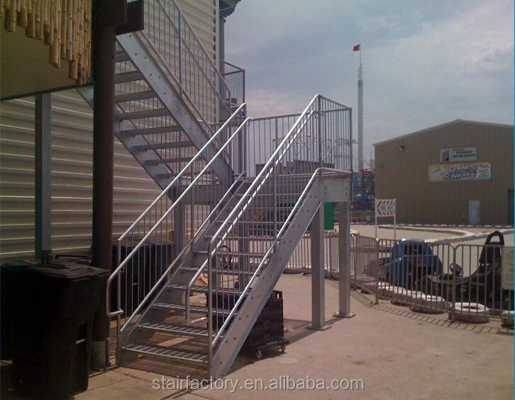 au en metall treppe outdoor treppengel nder design verzinkte treppe au en vorgefertigte stahl. Black Bedroom Furniture Sets. Home Design Ideas