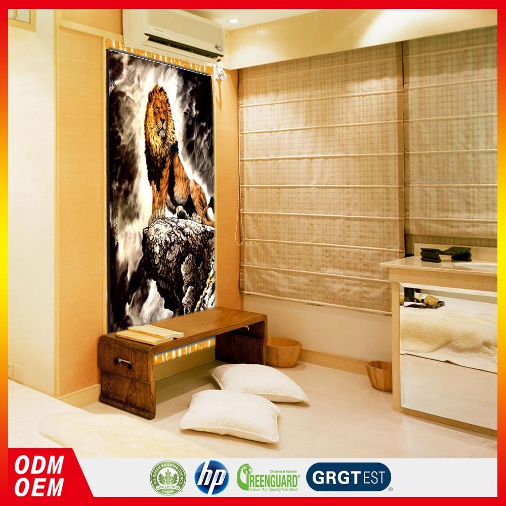 Tigre Pintura Papel Pintado Mural Decoraci N Muebles Juegos De  # Muebles Murales
