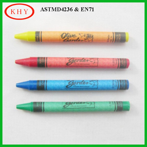 Diy 5 5 cm length wax color crayon for kids drawing buy for Drawing on wax paper