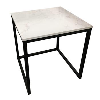 Marble Top Corner Sofa Side Coffee Tea Table With Metal Legs Buy