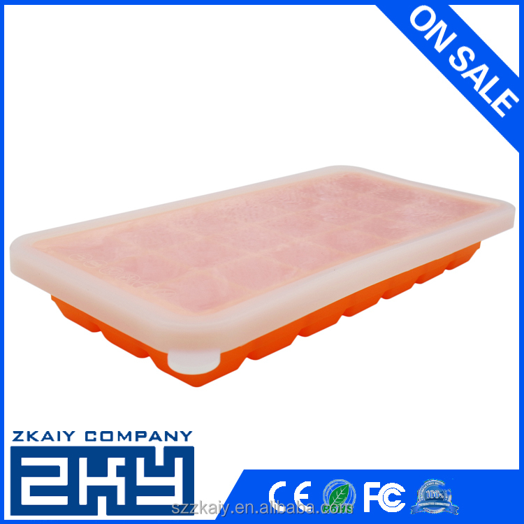 ZKY - Baby Food Freezer Tray with Protective Cover, 21 Hole, 19.95 OZ, Hot Sale, High Quality