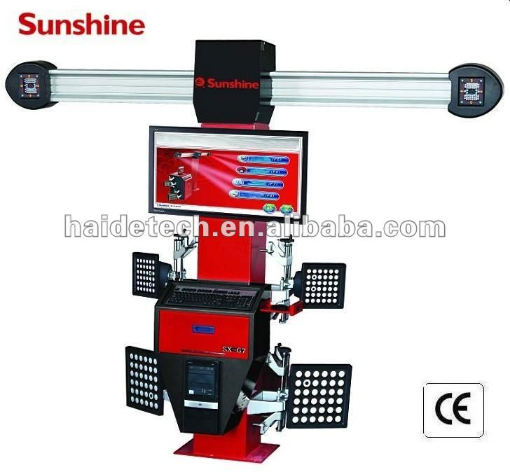 """sunshine""brand 4 wheel align system SX-G7 with CE&ISO"