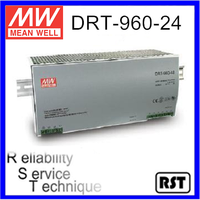 DRT-960-24 Single Output Taiwan Mean Well 960W 24V Industrial Din Rail Power Supply