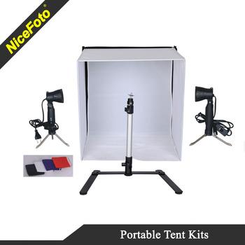 Nicefoto Studio Portable Light Tent Kit Lighting For Small Items Photo Product On