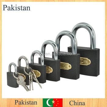 Pakistan Grey Paint Padlock/iron Padlock Manufacturer 361-367 ...