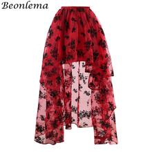 647fba5da Compra red long skirts y disfruta del envío gratuito en AliExpress.com