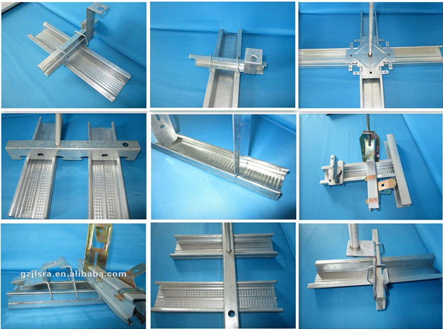 High Quality Galvanized Light Gauge Steel Ceiling Grid