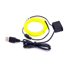 Hot Sale Waterproof Cold Neon El Wire With 5VDC Usb Inverter Controller