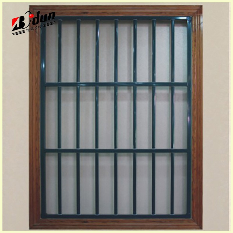 2016 New Design Simple Wrought Iron Window For Home