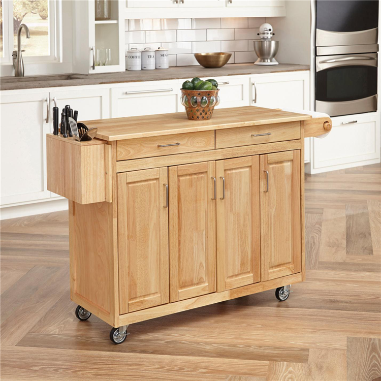 Extend Stainless Steel Butcher Block Large Slim Kitchen Storage Carts On  Wheels With Drawers - Buy Kitchen Storage Carts,Kitchen Storage Carts On ...