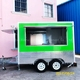 pizza ice cream halal food concession truck trailer for sale