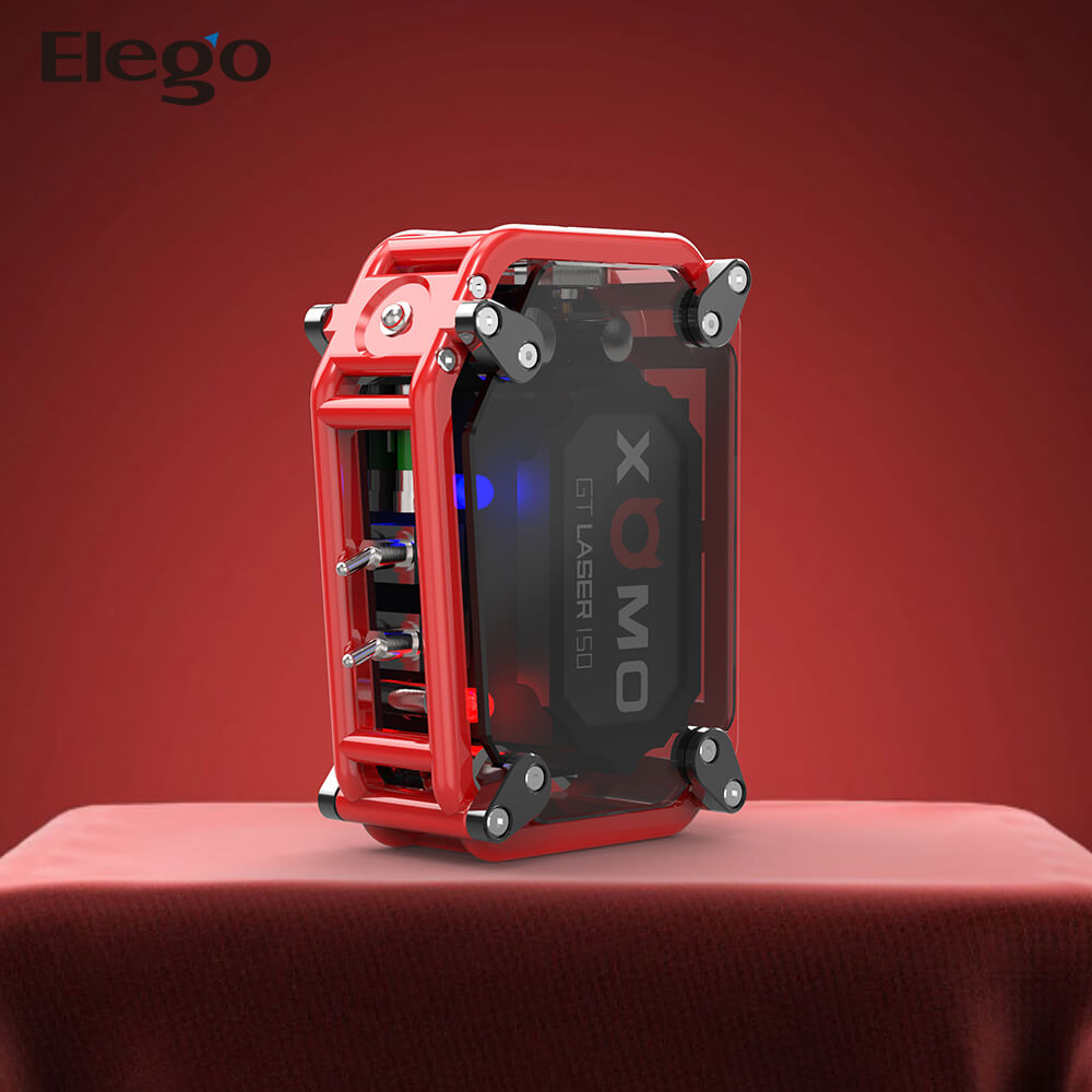 2017 First Batch ! Cool Design 0.025s Large Output ! 150W XOMO GT Laser 255S Mod with Fast Delivery
