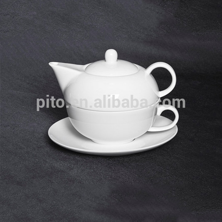 PITO Royal Ware 3 PCS High Tea Cup and Pot Set for Cafe
