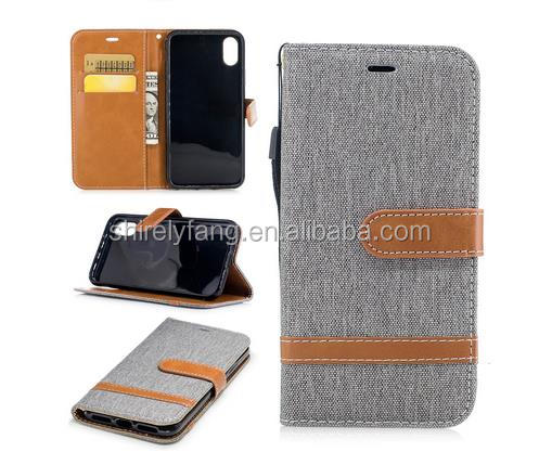 For iPhone 8 Universal many card slots wallet cell phone case
