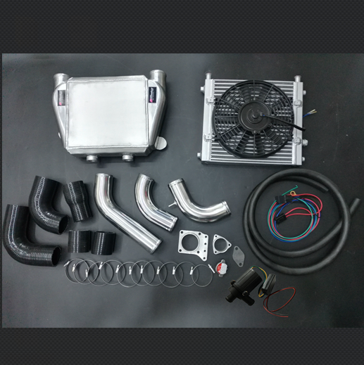 TD42 99-03 acqua intercooler kit top mount acqua per aria intercooler per nissan patrol GU GQ TD42