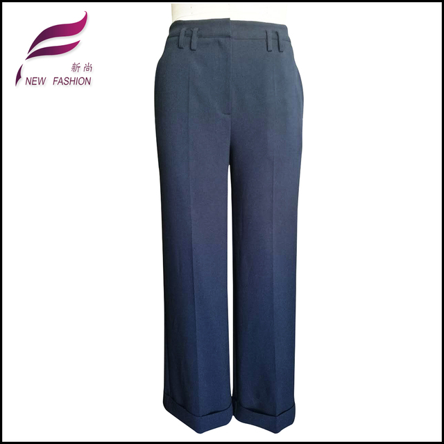 Breathable woolen women anti static pant with customized size and colour
