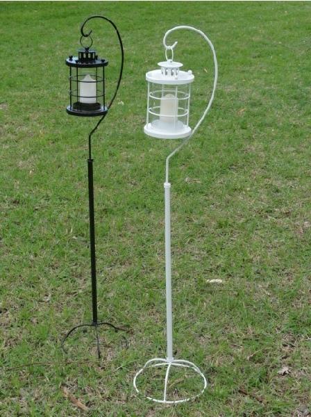 Garden Wedding Lanterns Stand Garden Lanterns Singel Shepherd Hook