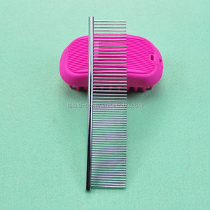 Stainless Steel Pet Comb Pins 3cm 4cm 5cm Dog Brush For Grooming,Pet Hair Cleaning Tool Size L/m/s