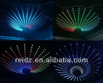 Night Club Decor Led Video Ceiling Ball Plate Support Madrix ...