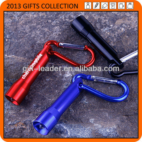 1 led aluminum carabiner light XSL0176