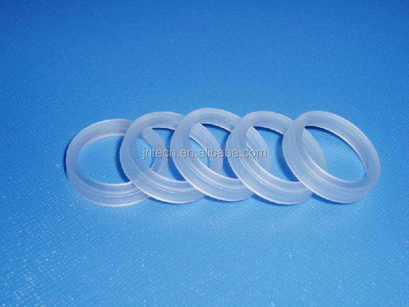 Pctfe Parts Seal Rings Kel F Gasket With Ultra Low