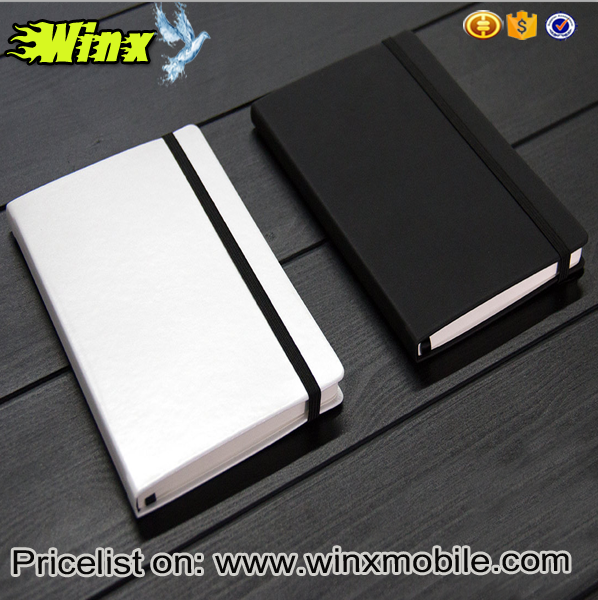 2017 new product for xiaomi mijia school paper notebook black/white in winx mobile