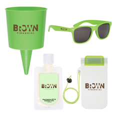 Best sale logo printed swim plastic thin sealed floating cylinder shaped colorful waterproof beach phone case with white strap