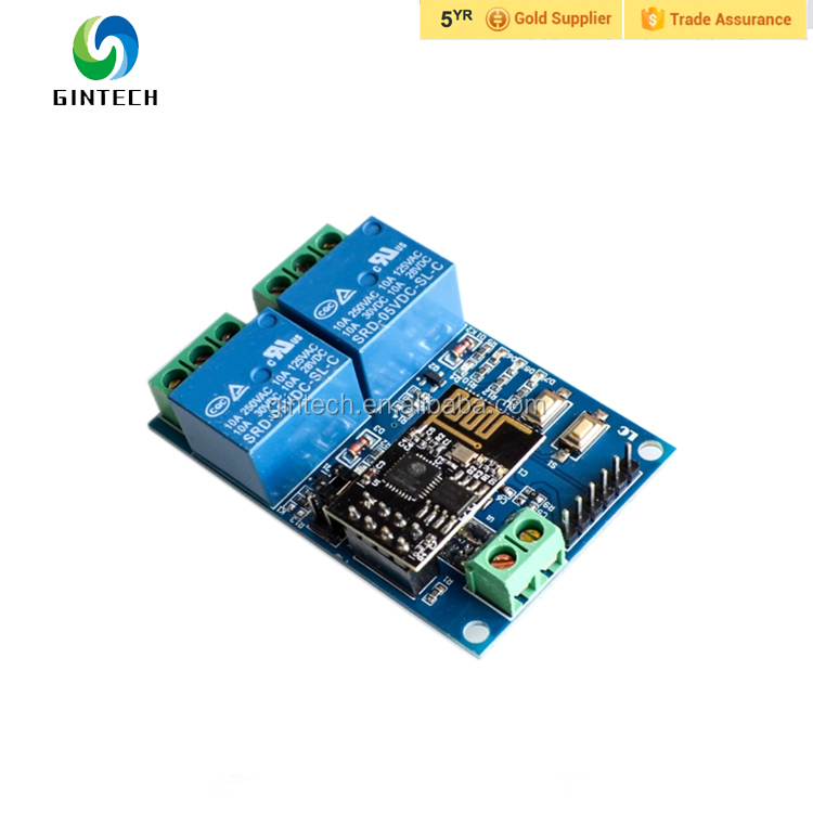 Sincere Esp8266 5v Esp01 Wifi Relay Module Remote Control Switch Phone App For Smart Home Iot Transmission Distance 400m High Safety Integrated Circuits