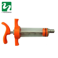 Factory 20ml Veterinary Instrument plastic steel syringe